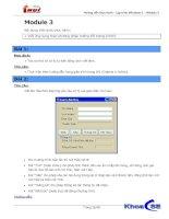 Hướng dẫn thực hành - Lập trình Windows 1 - Module 3
