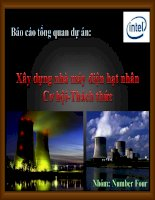 bài thuyết trình xây dựng nhà máy điện hạt nhân cơ hội - thách thức
