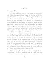 Luận văn Nghệ thuật trần thuật trong truyện ngắn Nguyễn Quang Sáng