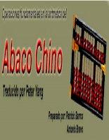operaciones fundamentales en el ábaco chino - traducido por peter yang