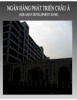 bài thuyết trình tài chính quốc tế ngân hàng phát triển châu á