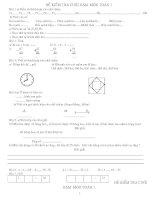 Tuyển chọn bộ đề toán cả năm tiểu học lớp 1 tham khảo