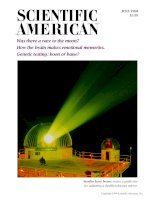 scientific american   -  1994 06  -  was there a race to the moon