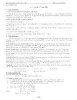 Các dạng bài tập chương 6 Kim loại kiềm thổ hay