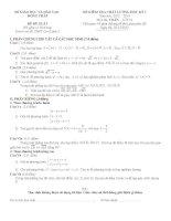 đề thi học kì môn toán lớp 10 tỉnh đồng tháp (đề 2)