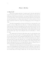 """""""Đánh giá tình hình thực hiện quy hoạch sử dụng đất của xã tân tiến – huyện bạch thông – tỉnh bắc kạn giai đoạn 2006 – 2010"""