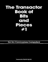 the transactor book of bits and pieces #1 for all commodore computers! (a collection of the bits and pieces sections from the transactor, v. 4-6)