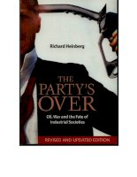 the party's over energy