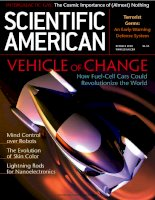 scientific american   -  2002 10  -  vehicle of change  -  how fuel - cell cars could revolutionize the world