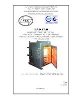 Nghiên cứu thiết kế chế tạo trạm biến tần phòng nổ 55 kw, 380 (660) v sử dụng trong các mỏ khai thác than hầm lò vùng Quang Ninh
