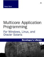 multicore application programming [electronic resource] for windows, linux, and oracle solaris