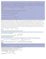 tổng hợp những bài tập vật lý khó luyện thi đại học(có lời giải)