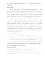 ĐỒ ÁN MÔN HỌC XỬ LÝ NƯỚC THẢI NƯỚC CẤP XỬ LÝ NƯỚC THẢI NHÀ MÁY CHẾ BIẾN TINH BỘT MÌ