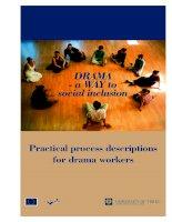 drama a way to social inclusion