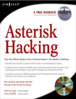 asterisk hacking toolkit and live ccd