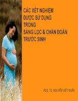 các xét nghiệm sàng lọc và chẩn đoán trước sinh_2