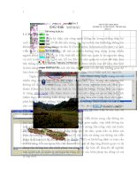 Ứng dụng GIS và viễn thám để thành lập bản đồ hiện trạng rừng năm 2011 tại xã nông hạ   huyện chợ mới   tỉnh bắc kạn