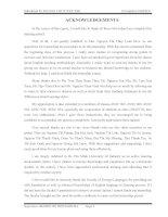 internship report in English major