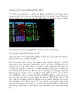 tổng quan thị trường chứng khoán 2013