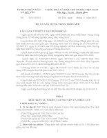 quy hoạch xây dựng nông thôn mới xã Mỹ Yên, huyện Đại từ, tỉnh Thái Nguyên