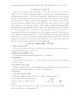 Rèn luyện cho học sinh kỹ năng khai thác hình chiếu của điểm trên đường thẳng để giải quyết một số bài toán cực trị hình học