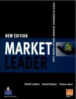 market leader upper intermedaite course book