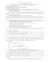 Giáo án sinh học 9 theo chuẩn kiến thức kỹ năng tham khảo bồi dưỡng