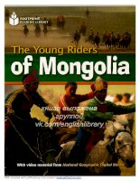The young riders of mongolia