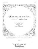 gould glenn. so you want to write a fugue