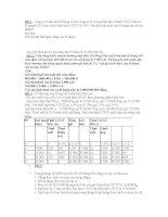 Bài tập thuế có lời giải