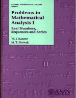 Problems in mathematical analysis 1