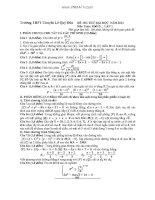 4 đề thi thử đại học môn toán có đáp án (5)