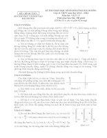 Đề thi HSG + lời giải lớp 12 Hải Dương môn vật lý