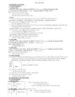 Tổng hợp kiến thức ôn thi vào lớp 10 THPT môn Tiếng Anh