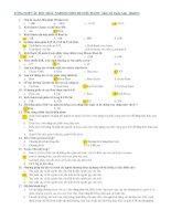 180 câu hỏi trắc nghiệm môn Hệ điều hành của thầy Đỗ Tuấn Anh có đáp án