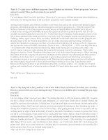 Các topic viết thư tiếng anh B1 châu âu và bài viết thư mẫu