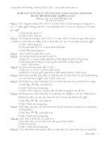 LTĐH Toán: 100 Bài Tập Hình Không Gian