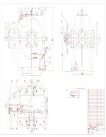 Bản vẽ đồ án chi tiết máy