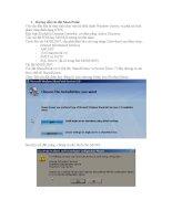 Hướng dẫn cài đặt SharePoint  Ứng dụng công nghệ SharePoint trong bài toán quản lý công văn tại Bưu điện tỉnh Thái Nguyên