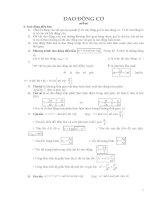 8 chuyên đề ôn thi đại học môn lý đầy đủ lý thuyết và bài tập
