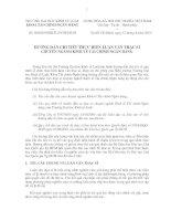 Hướng dẫn chi tiết thực hiện luận văn thạc sĩ chuyên ngành kinh tế tài chính  ngân hàng  ĐH Kinh tế Luật