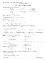 bài tập chương ii hàm số bậc nhất và bậc hai