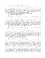 Một số bài văn mẫu lớp 3 HK 2