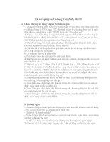 đề thi nghiệp vụ tín dụng vietinbank 2006