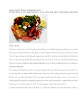 Những nguyên tắc dinh dưỡng cho mùa thi