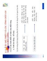 Bài giảng cơ học chất lỏng