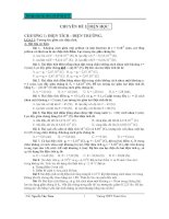 Bài tập chọn lọc theo chủ đề vật lí 11