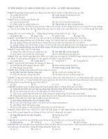 164 câu lí thuyết vật lí 12 hay, có đáp án