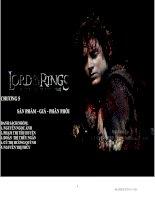 Sản phẩm - Phân phối - Giá cho Lord of the ring