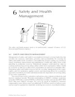 Industrial Safety and Health for Goods and Materials Services - Chapter 6 docx